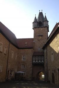 Der Turm überragt Schloss/Burg Spangenberg / Foto: Public domain