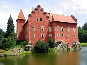 Schloss Červená Lhota in Tschechien: Roter Anstrich wegen Blutfleck? / Foto: Zdenek Svoboda