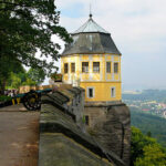 VNV Nation und Mesh auf der Festung Königstein
