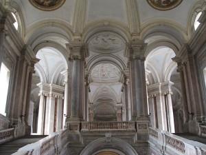 Auch gut genug für Königin Amidala: Das Treppenhaus des Palasts von Caserta / Foto: Wikipedia / Twice25 & Rinina25 / CC-BY 2.5