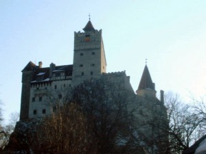Schloss Bran: Mit wuchtigen Türmen / Foto: Wikipedia / Pomonius