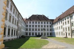 Der Innenhof von Schloss Salem / Foto: Burgerbe.de