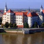Schloss Hartenfels: Prächtige Folge der Leipziger Teilung