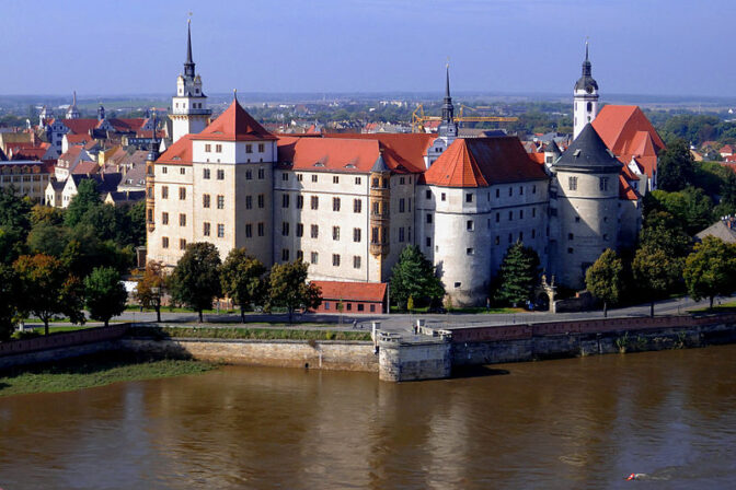 Schloss Hartenfels in Torgau / Foto: Wikipedia / Zeppelubil / Th. Haft / CC BY 3.0 DE