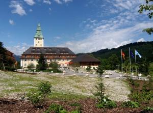 Schloss Elmau bereitet sich auf den Empfang von Staatsgästen vor / Foto: Wikipedia / Horemu