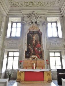 Bischöfliche Pracht in der Kapelle von Schloss Pöckstein / Foto: Wikipedia / Rollroboter / CC BY-SA 3.0 AT