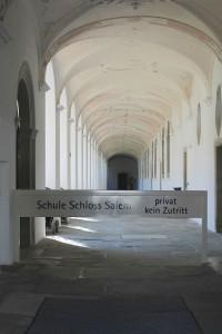 Die Gänge des einstigen Klosters gehören nun zur Schule Schloss Salem