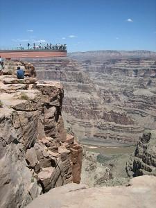 Vorbild Grand Canyon: Der Skywalk zieht tausende Besucher an / Foto: Wikipedia Purple