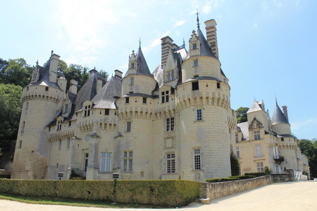 Chateau d'Ussé: Jede Menge Türmchen