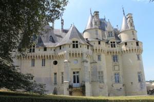 Das Dornröschenschloss Chateau d'Ussé nahe der Loire / Fotos: Burgerbe.de