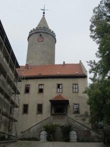 Leuchtenburg: Ihr Burgturm diente lange als Gefängnis / Foto: Burgerbe.de