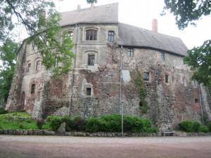 So sieht Burg Rosslau ohne Publikum aus / Foto: Burgerbe.de