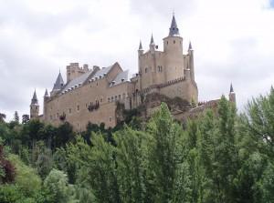Der Alcazar von Segovia / Foto: Wikipedia / Miguel303xm / CC-BY 2.5