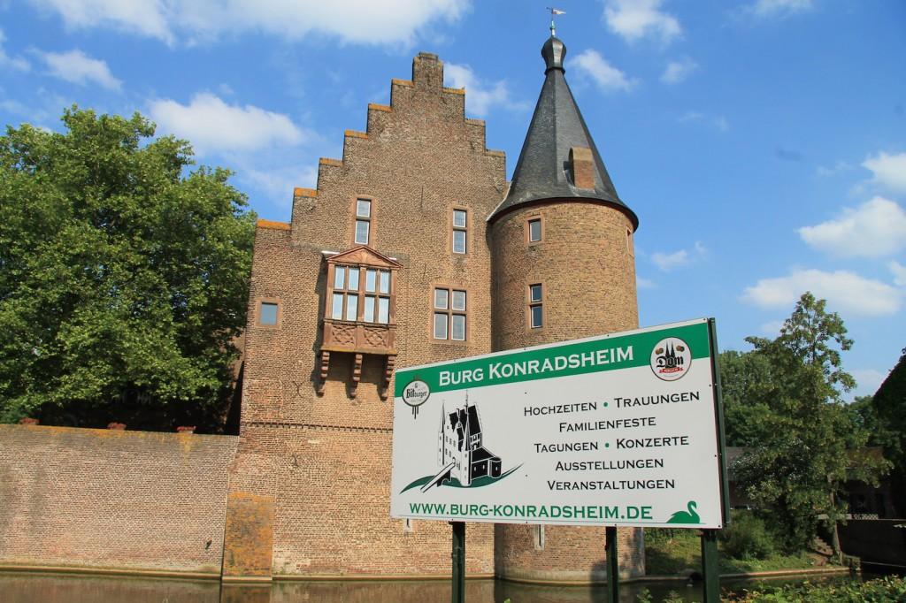 Burg Konradsheim: Raum für Hochzeiten und Tagungen...