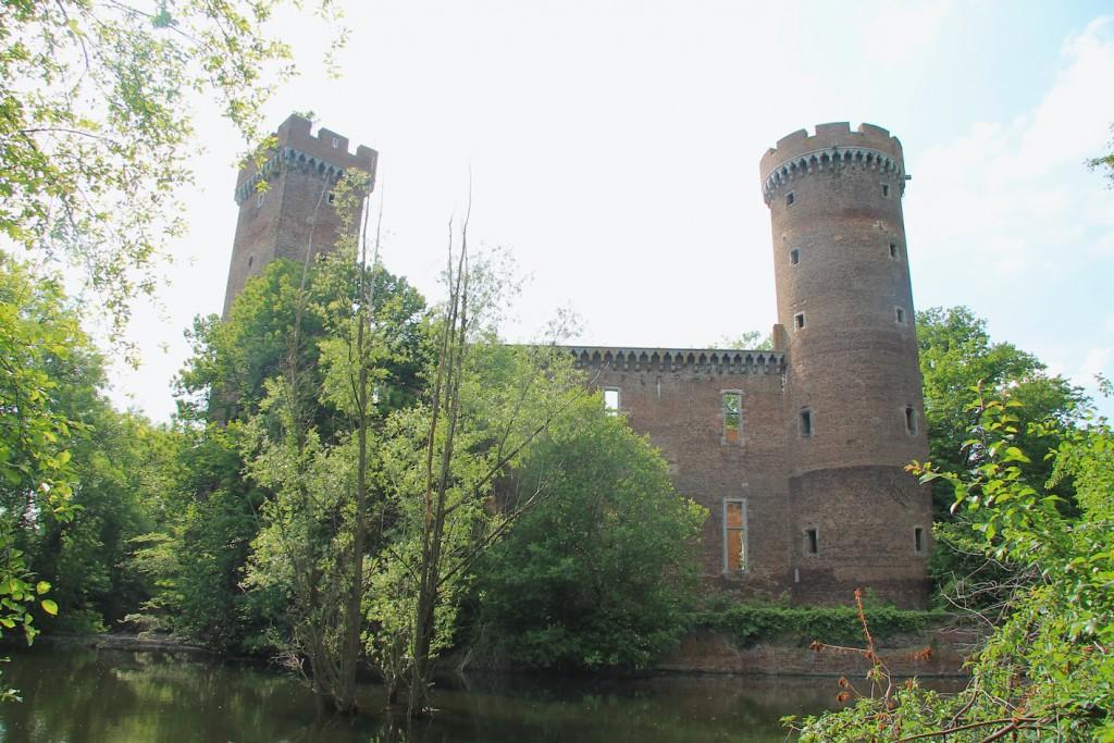 Die Ruine der Landesburg Lechenich / Fotos: Burgerbe.de