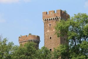 Die Türme von Burg Lechenich