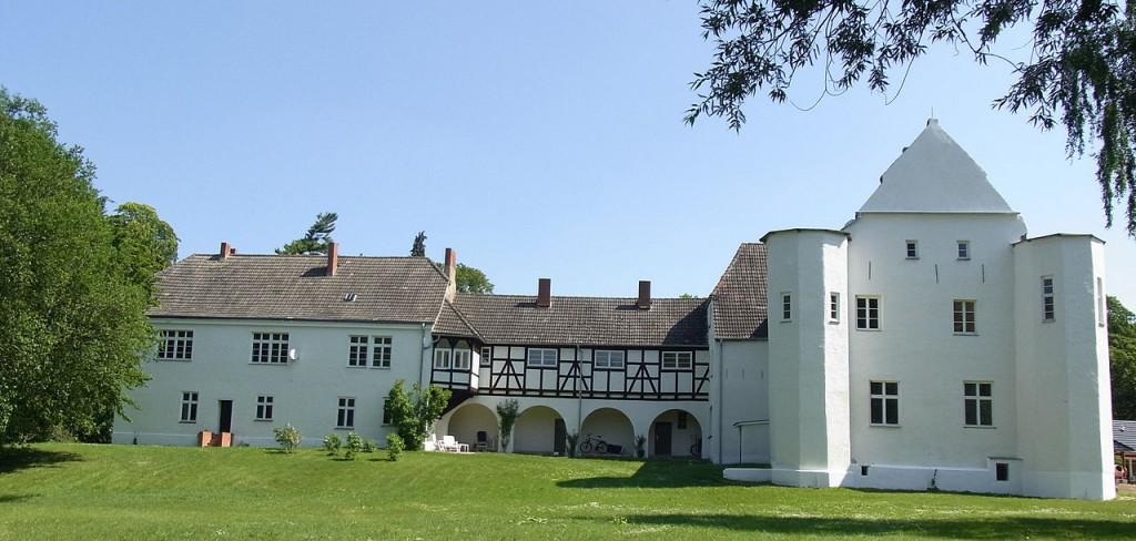 Burg Klevenow Foto: Wikipedia / Steffenknoop / CC BY 3.0 DE