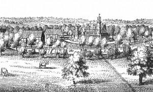 Burg Brome um 1657 / Bild: Merian/Public domain