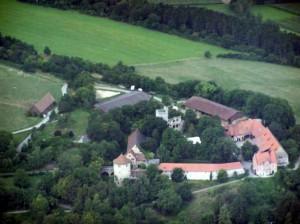 Luftbild von Burg Neuhaus / Foto: Wikipedia / Jumic / CC BY 3.0 DE