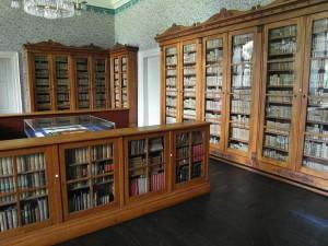 Corvey: Die Klosterbibliothek im Nordflügel / Public Domain