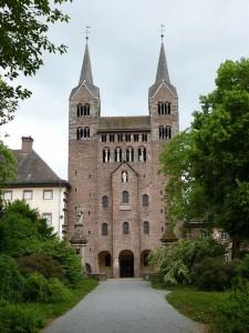 Karolingisches Westwerk der ehemaligen Reichsabtei Corvey / Foto: Wikipedia / Aeggy / CC BY 3.0
