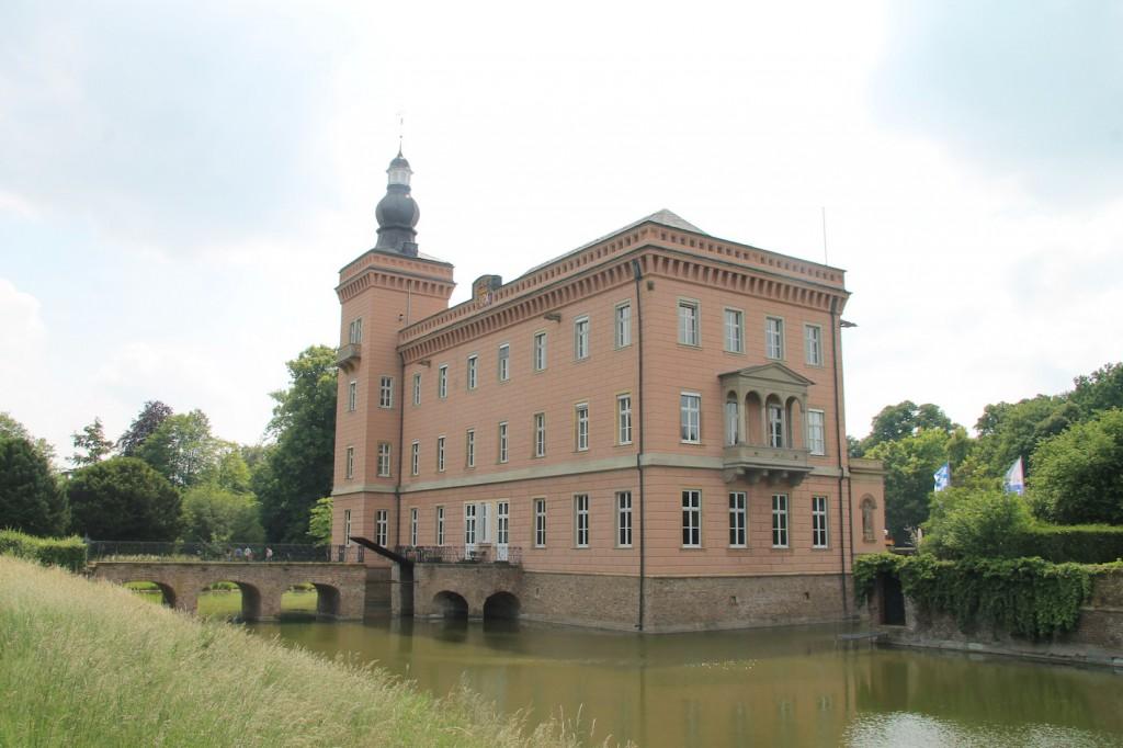 Fotogen: Das Herrenhaus von Schloss Gracht