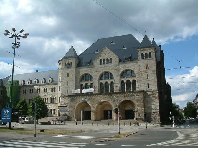 Vorbild für Schloss Waldthausen: Das kaiserliche Schloss in Posen / Foto: Wikipedia / Radomil / CC BY 3.0 DE