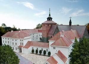 Schloss Varel im Modell: So soll es ausgesehen haben / Bild: Public Domain