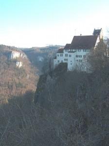 Schloss Werenwag von der Ostseite / Foto: Wikipedia/ Fotoarchiv von Roland Nonnenmacher