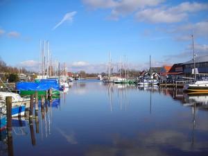 Der Hafen von Varel / Foto: Public Dpomain
