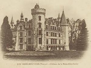 Das Schloss auf einer Postkarte aus den Jahren nach 1900 / Urheberrecht abgelaufen