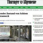 Schloss Friedrichstanneck wird zur Ruine