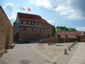 Burg Scharfenstein: Blick auf den Burghof / Foto: Wikipedia / Die Ziegler / CC-BY-3.0