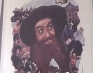 Louis de Funès als Rabbi / Foto: Screenshot Youtube