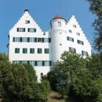 Strahlend Weiß: Schloss Aulendorf / Fotos: Burgerbe.de