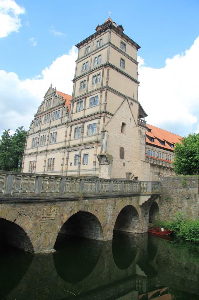 Schloss Brake beherbergt heute das Weserrenaissance-Museum / Fotos: Burgerbe.de