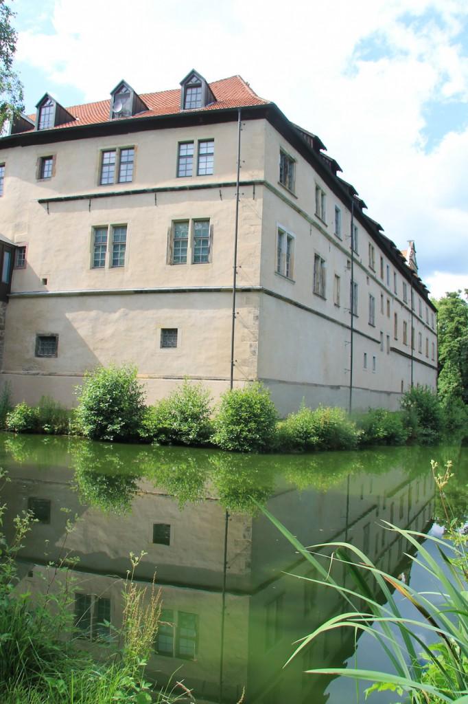 Schloss Brake: Die Rückseite