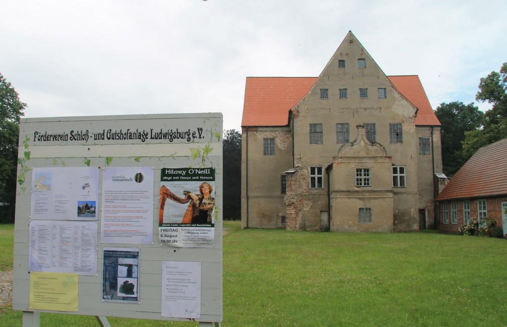 Schloss Ludwigsburg: Auch ein Förderverein kümmert sich / Fotos: Burgerbe.de