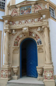 Portal im Innenhof