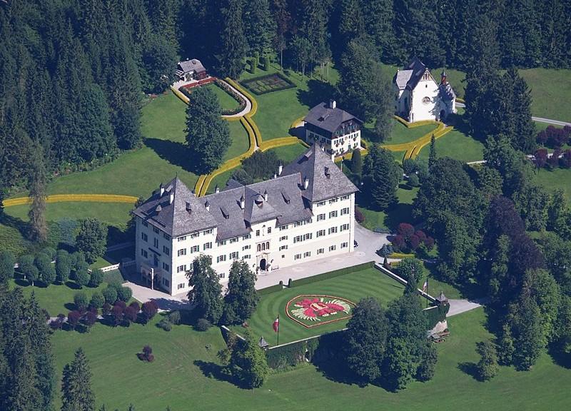 Schloss Blühnbach nahe Salzburg / Foto: Wikipedia / Lplan / CC-BY-SA 4.0