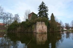 Die Wasserburg Burgsinn / Foto: Wikipedia / Pascal Resch / CC-BY-SA 3.0