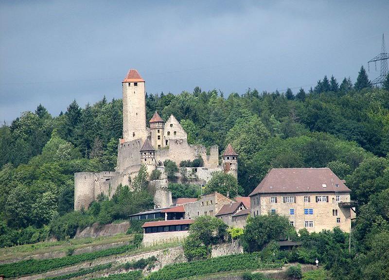 Burg Hornberg am Neckar / Foto: AlterVista / CC-BY-SA 2.0