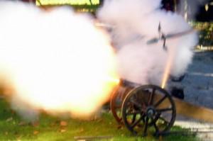 Auf Schloss Erichsburg krachen am letzten Augustwochenende die Kanonen / Foto: Veranstalter