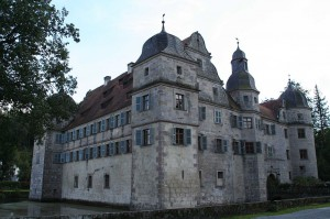 Wasserschloss Mitwitz von Nordwesten / Foto: Wikiepdia / Störfix / CC-BY-SA-2.5