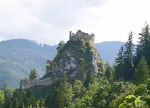 Die Ruine von Burg Eppenstein in der Obersteiermark / Foto: Wikipedia / PLauppert / CC-BY-CA 3.0