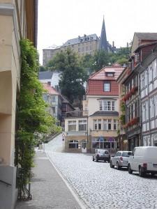 Das Große Schloss Blankenburg doniniert die Altstadt des Ortes im Harz / Foto: Wikipedia / CC-BY-SA-2.0