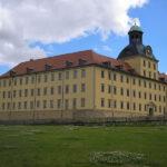 Schloss Moritzburg Zeitz: Überraschung beim Aufzugbau