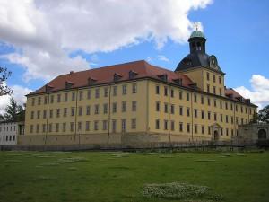 Schloss Moritzburg in Zeitz: Der Zwinger ist eingestürzt / Foto: Wikipedia / Michael Sander / CC-BY-SA 3.0