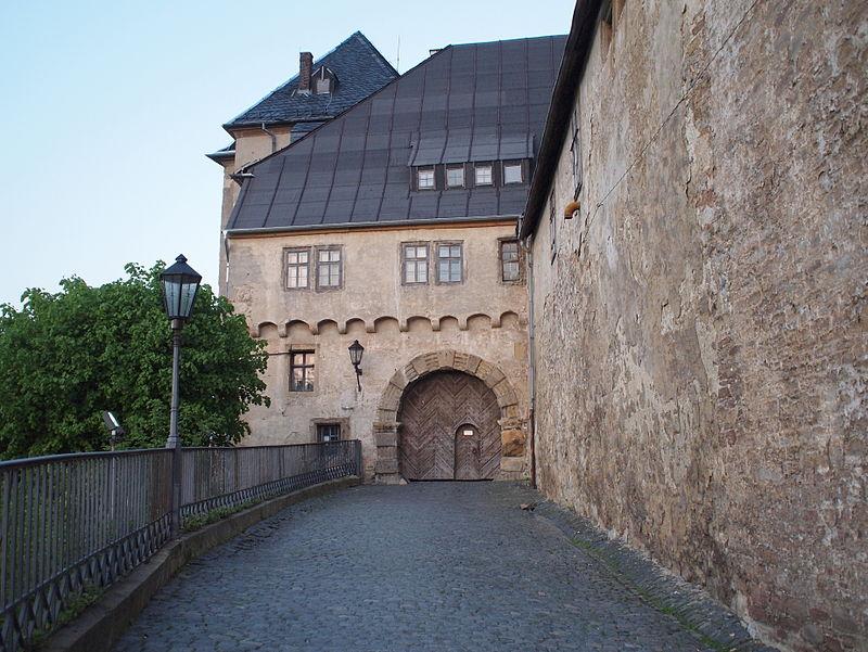 Der Eingang zu Schloss Blankenburg / Foto: Public Domain