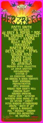 Bands und Künstler, die beim Burg Herzberg Festival 2014 auftreten